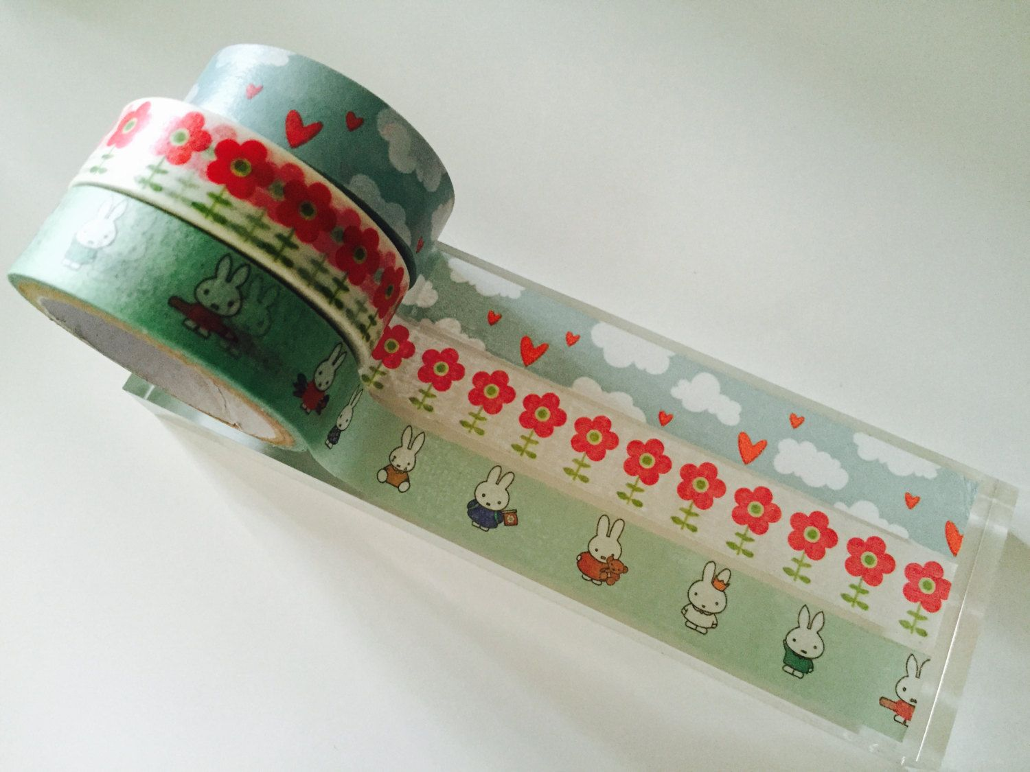 Too Cute For Words Washi Tape 3 Pack by GoatGirlMH on Etsy