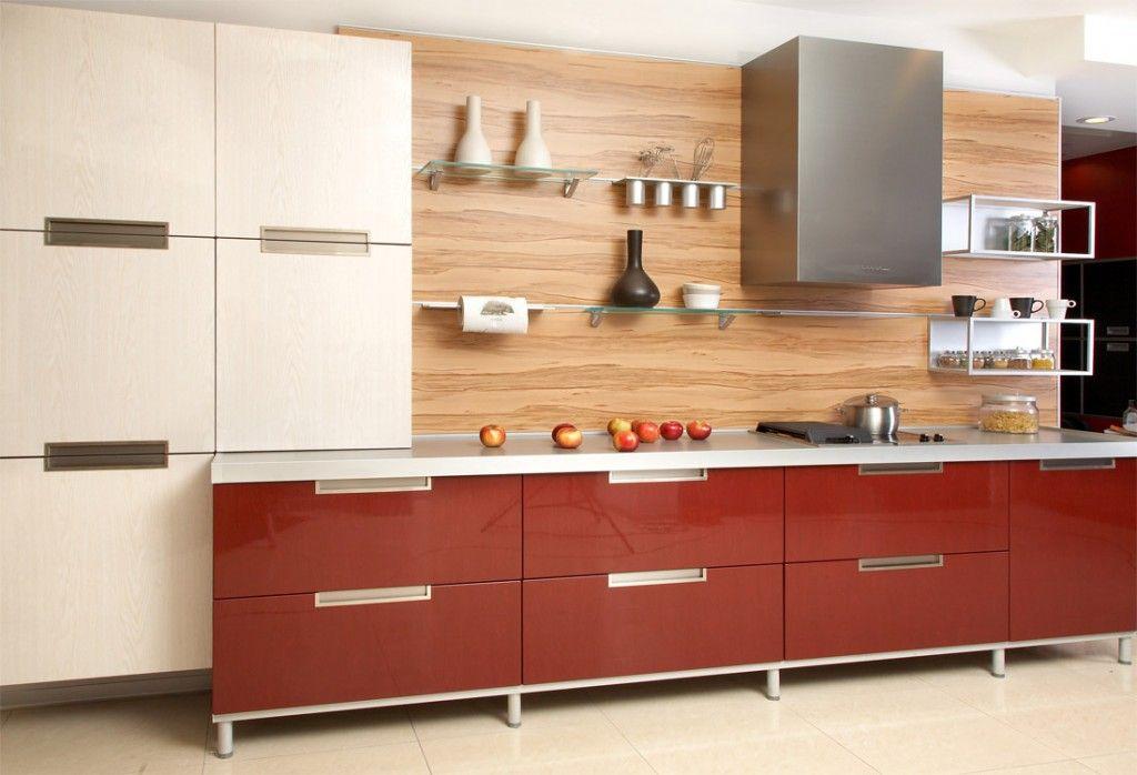Straight Modular Kitchen Domyplace Pinterest Kitchens And Modern