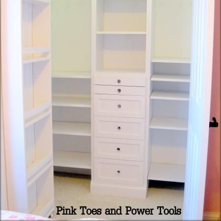 Closet organizer do it yourself home projects from ana white closet organizer diy projects solutioingenieria Choice Image