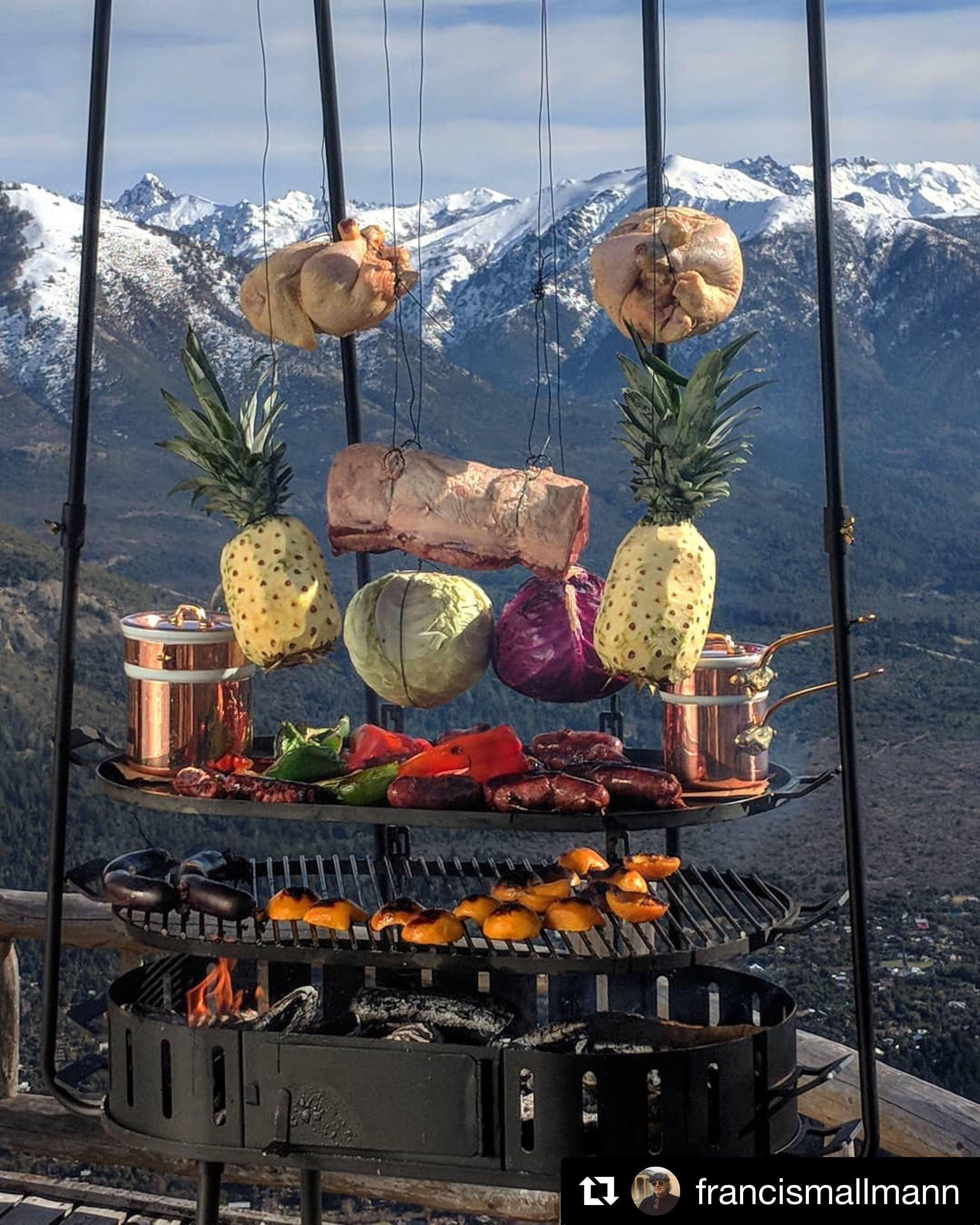 Open Fire Cooking Recipes Meat