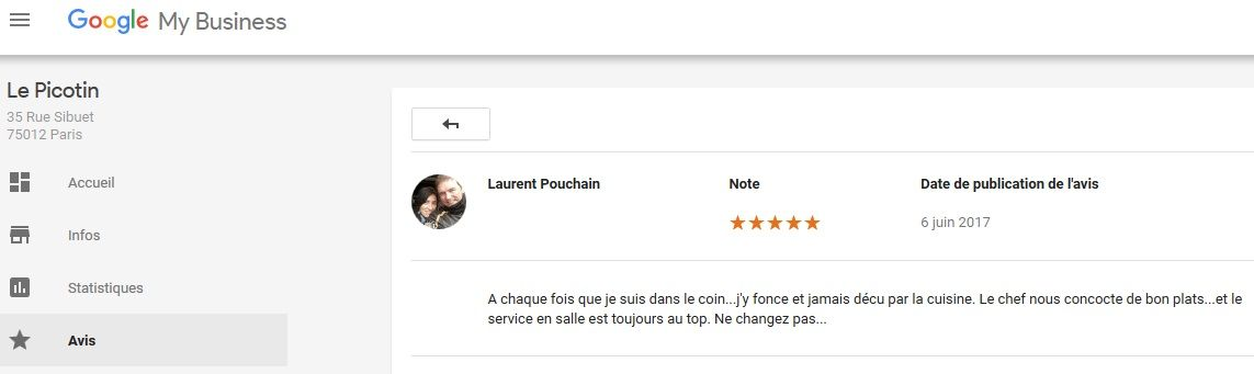 Only 5 Stars Comments On Google Best Restaurant In Paris