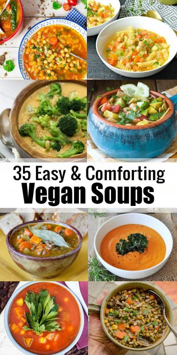 30 Hearty and Comforting Vegan Soup Recipes – Vegan Heaven