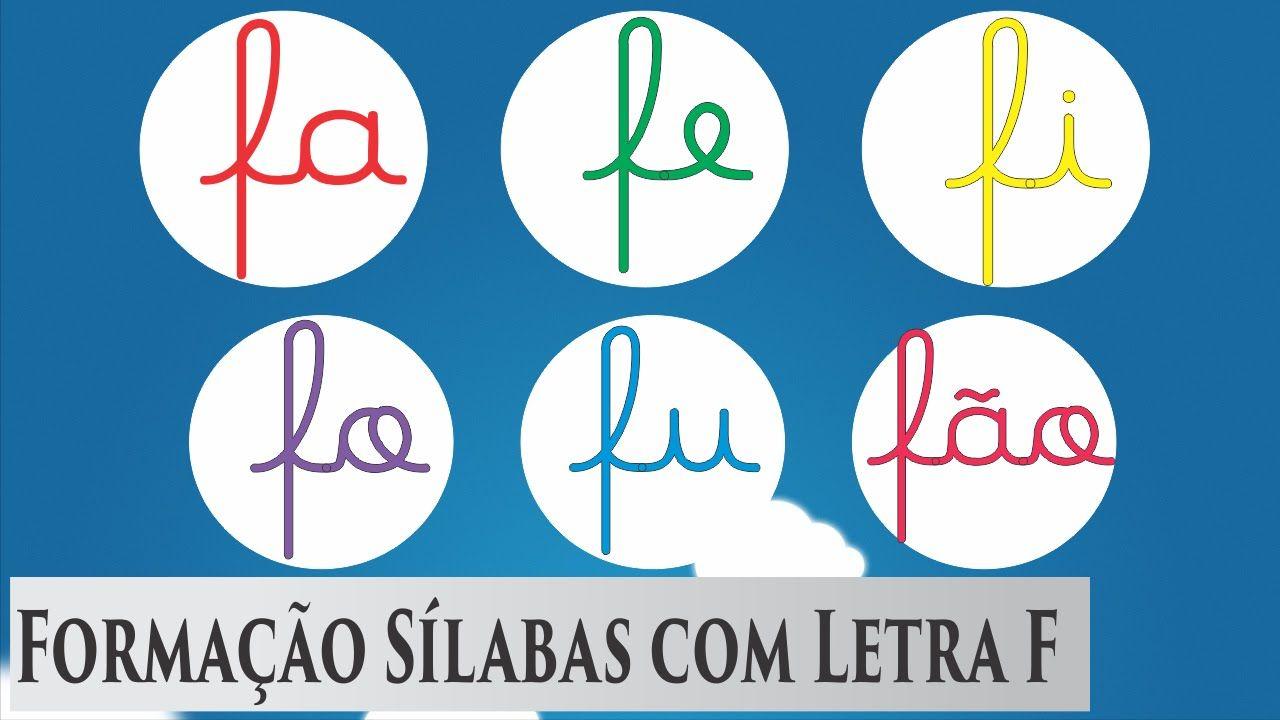 Aprender A Ler Fa Fe Fi Fo Fu Fao Alfabeto Em Portugues