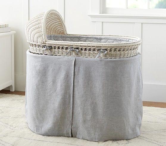 Belgian Flax Linen Bassinet Bedding Bed Bassinet Best Crib