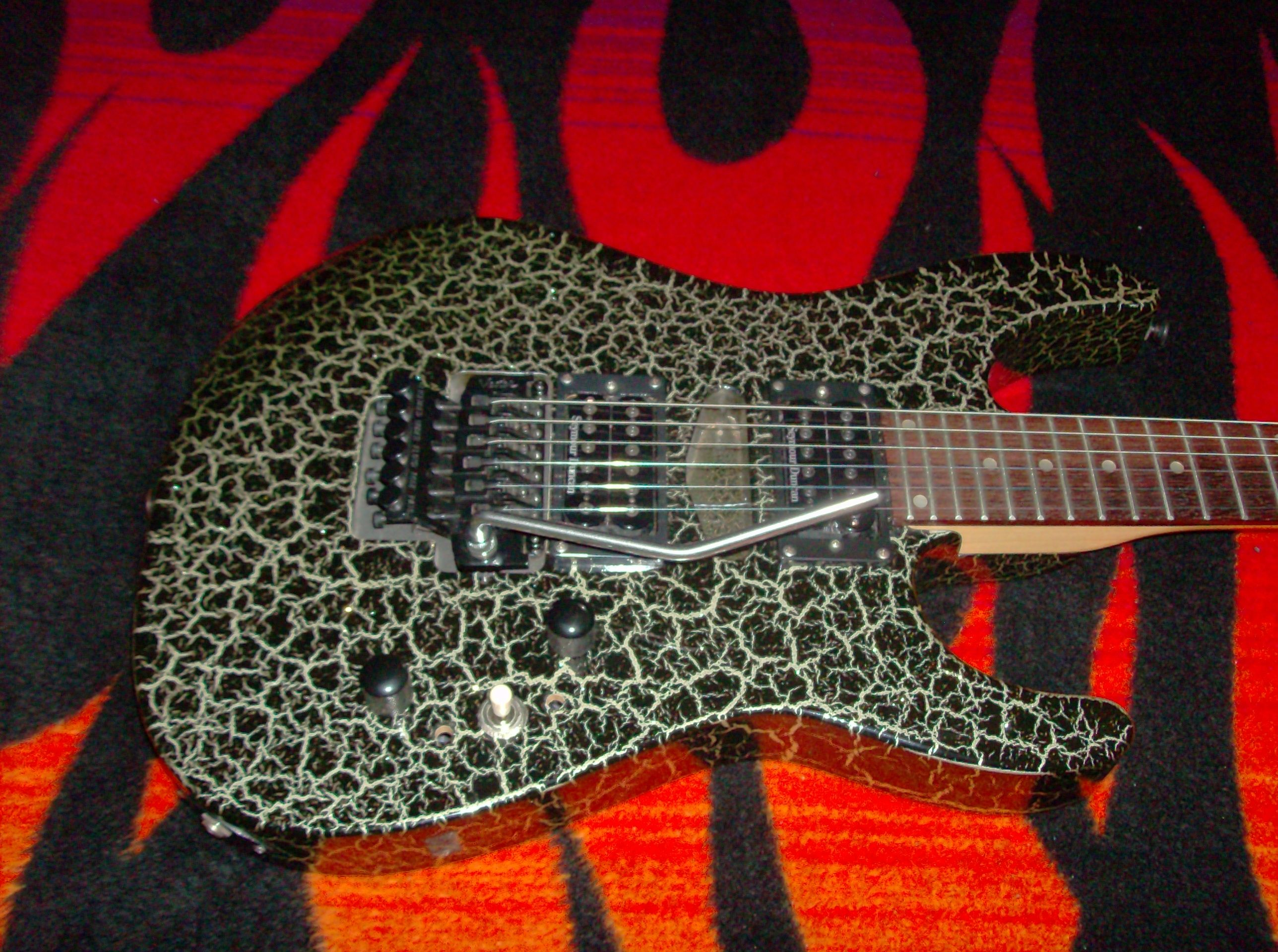Crackle Sft FinishGuitar 70a Black Vester WE2YDIH9