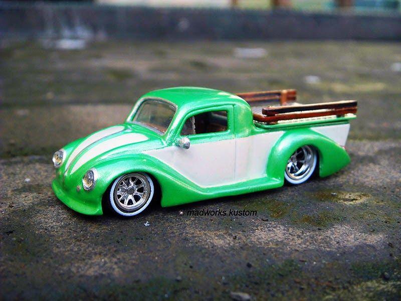 hot wheels custom vw beetle pickup truck amazing. Black Bedroom Furniture Sets. Home Design Ideas