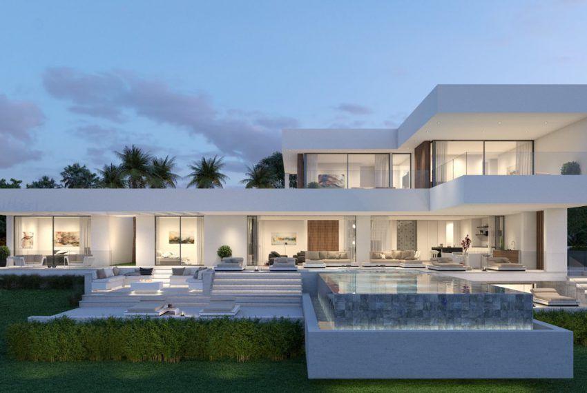 Modern Villa In Montemayor 4 Modern Villa Design Architecture House Modern House Exterior