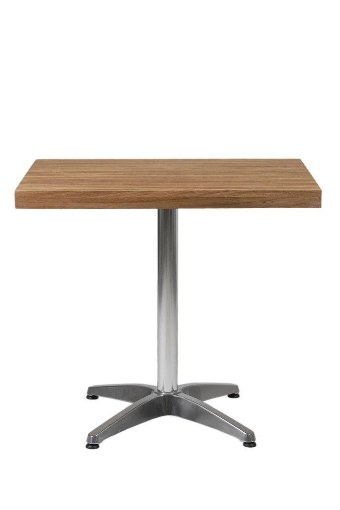 Sam Dining Table Teak Aluminum 04108 Contemporary