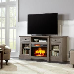 Home Decorators Collection Parkbridge 68 In Freestanding Infrared Electric Fireplace Tv Stand Fireplace Tv Stand Electric Fireplace Tv Stand Fireplace Console
