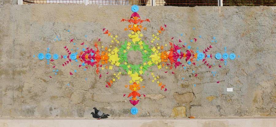 Poetic Origami and Paper Installations – Fubiz Media