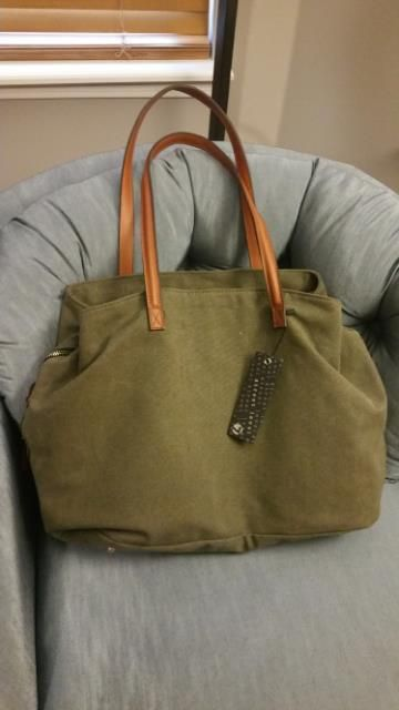 d4f167ac8 Street Level Anchorage Solid Canvas Tote... Diaper bag option ...