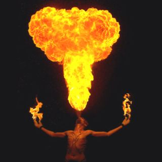Fire so powerful for destruction yet also purifying. A blessing & a curse.