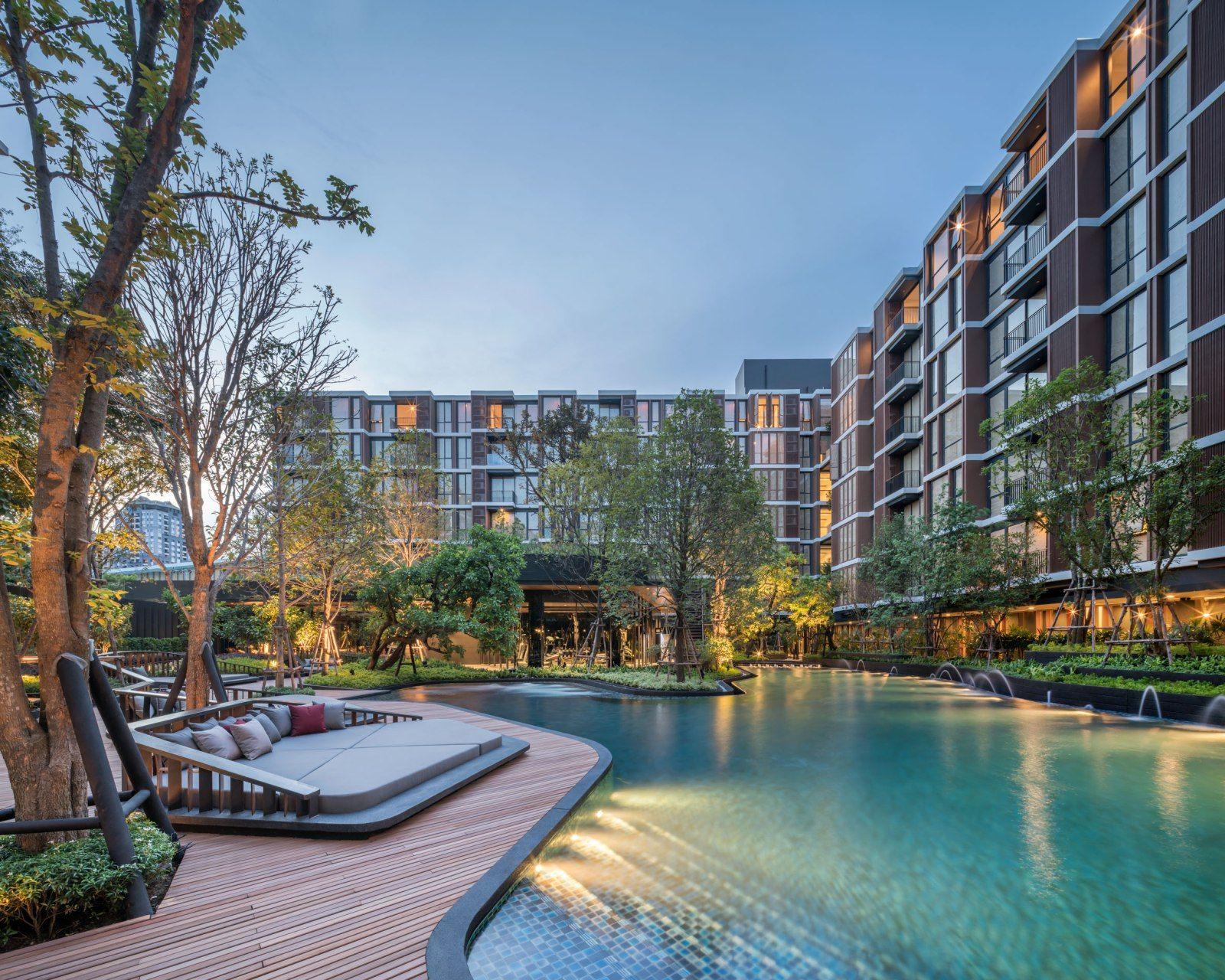Mori Haus Condominium By Sansiri Hotel Landscape Condominium Architecture Condominium