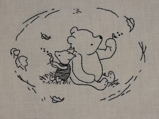 Pooh And Piglet Piglets Embroidery And Patterns