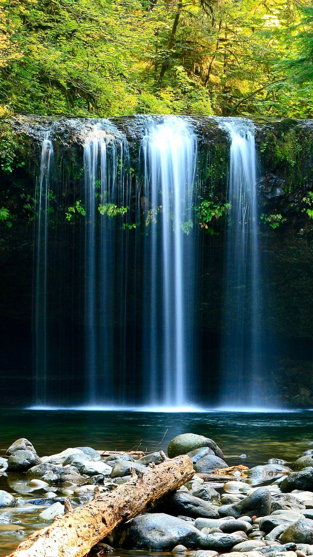 4k Wallpaper Nature Waterfall Ideas Waterfall Waterfall Photography Green Nature Wallpaper