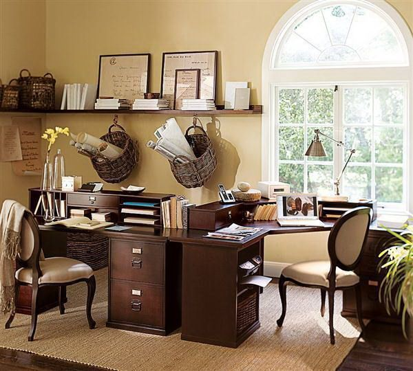 home office decor brown. Office Decorating Ideas For Homey Work : Impressive Home Decor - Decorations Brown O