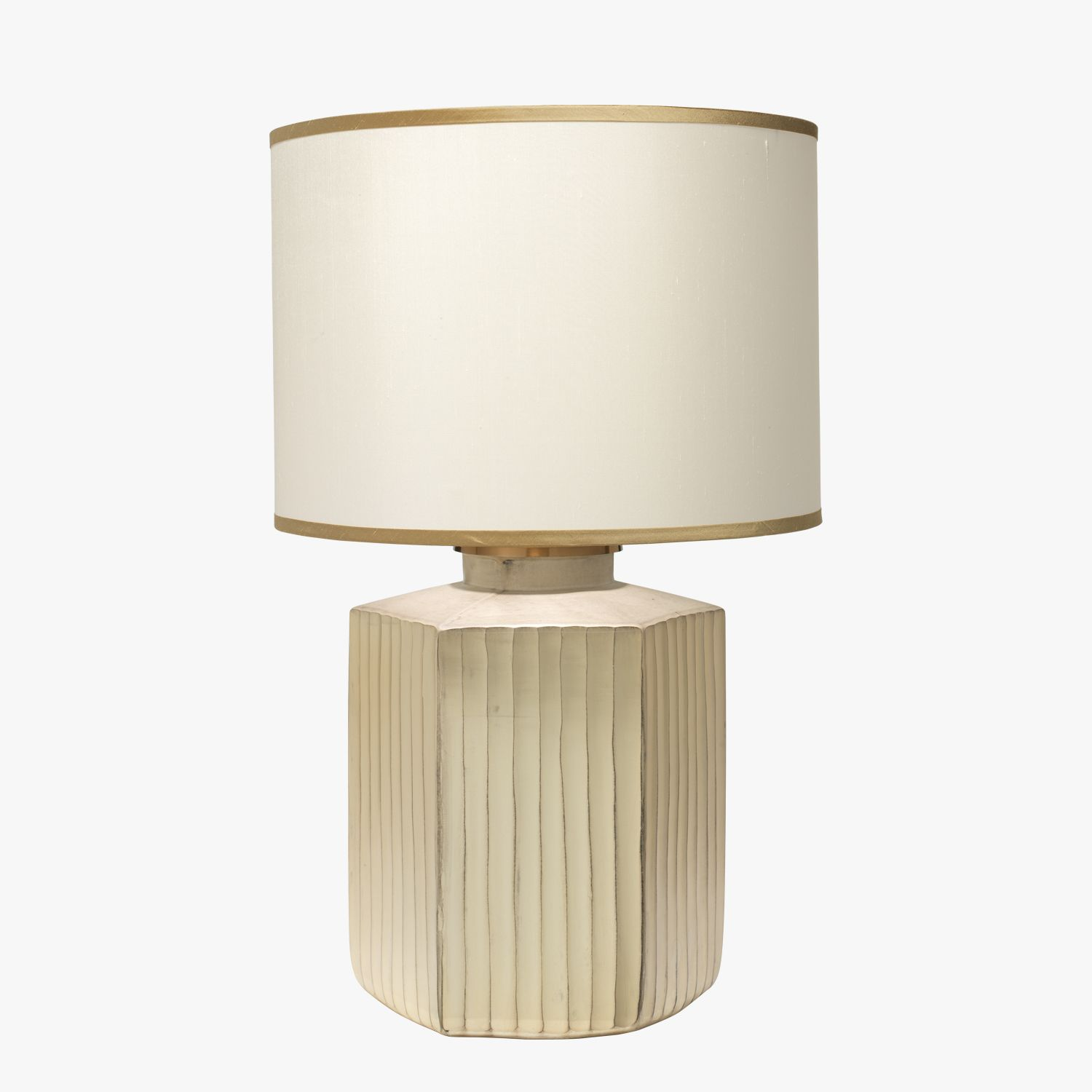 Our Anders Frosted Glass Lamp Features A Stylish Oversized Hexagon Shape With A Soft Gold Frosted Finish This Chic Table L Lamp Home Decor Styles Unique Lamps