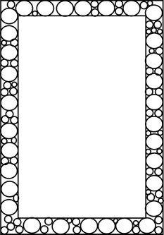 Full Page Borders … | Bordes y marcos, Marco para imprimir ...