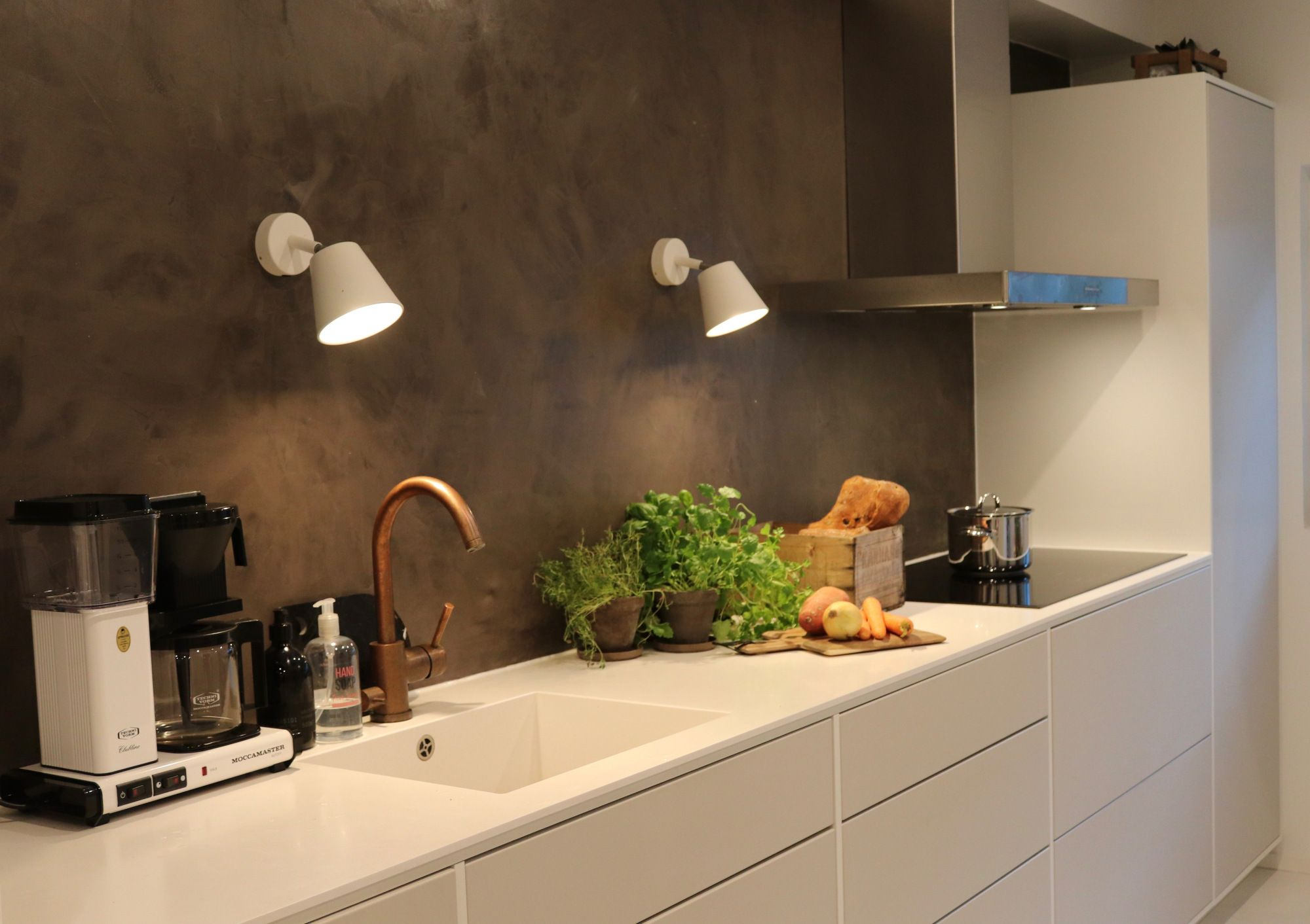 Kitchen ideas and inspo, microcement