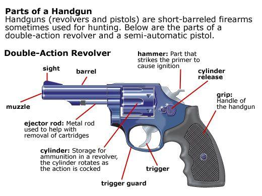 Safe Gun Handling Loading and Unloading Revolvers | Guns, Bows ...
