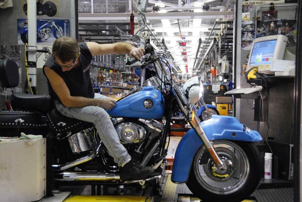 Harley-Davidson Offers Factory Tours in Three Locations ...