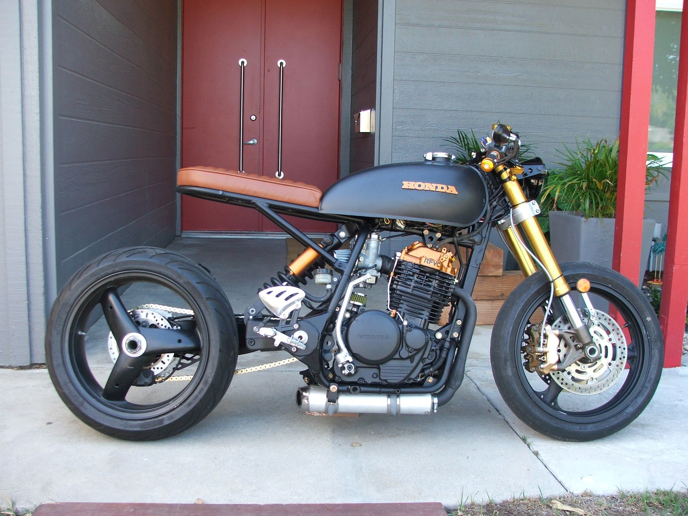 honda xr600r #caferacer | caferacerpasion | cafe racer