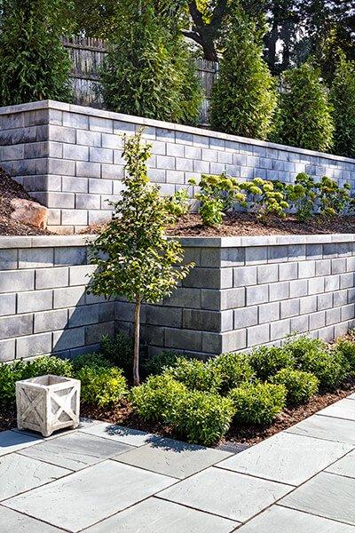 G Force Garden And Retaining Walls Techo Bloc Garden Steps