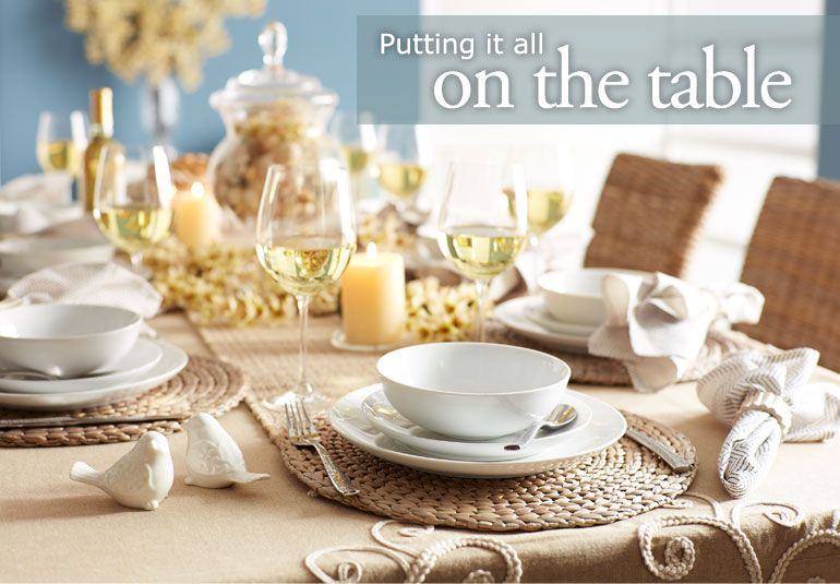 Guide to setting a table