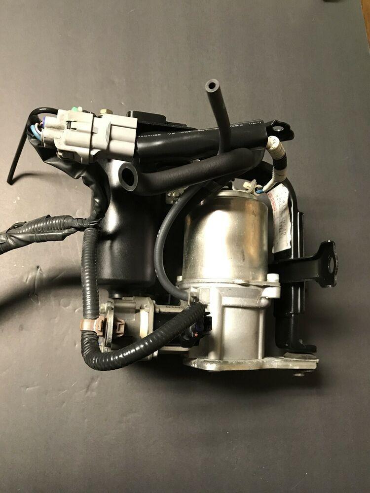 01 02 03 04 05 06 Lexus Ls430 Air Suspension Compressor Pump Oem Lexus Lexus Mercedes Cl500 Audi Allroad