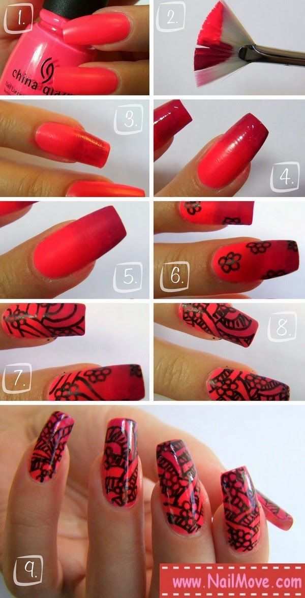 How To Do Ombre Nails Without Sponge Fashion Design Art Beautytips
