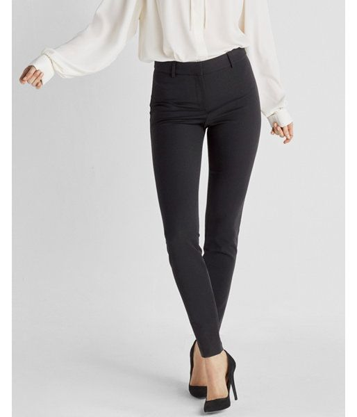 b181de0005df High Waisted Stretch Skinny Pant Black Women's 2 | Products in 2019 ...
