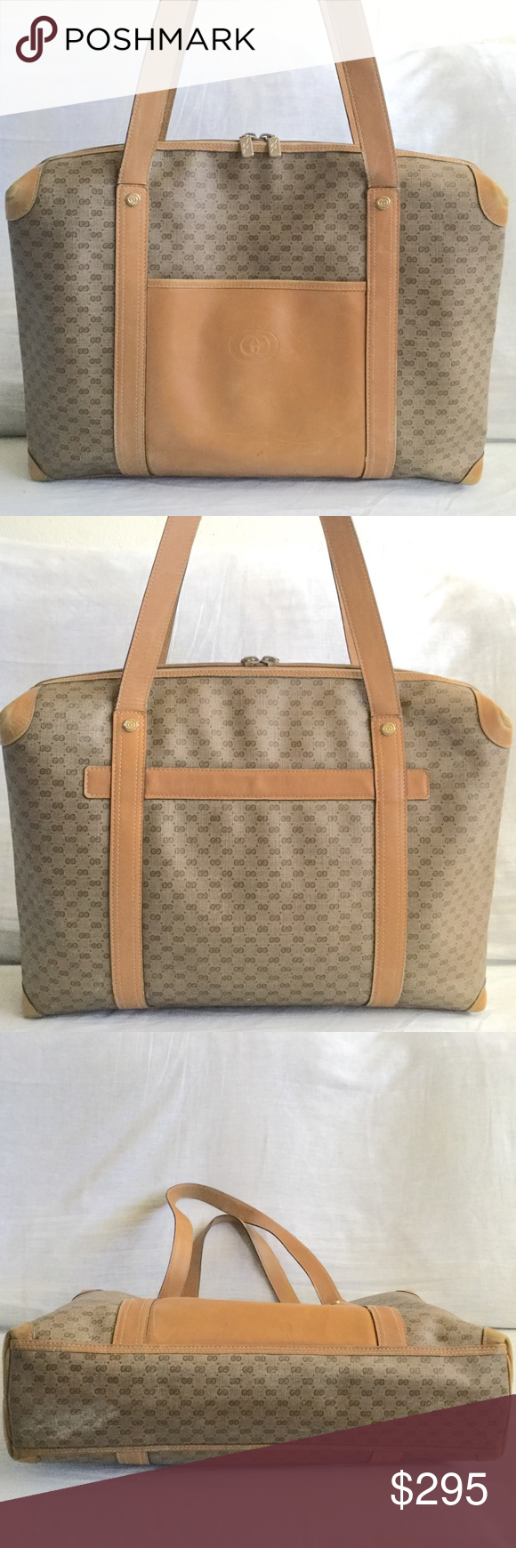 c3d09cd0b375 Spotted while shopping on Poshmark: HOST PICK Vintage Gucci Large Tote! # poshmark #fashion #shopping #style #Gucci #Handbags