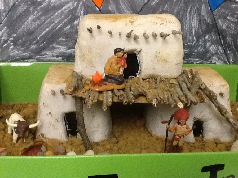 Pueblo house projects school