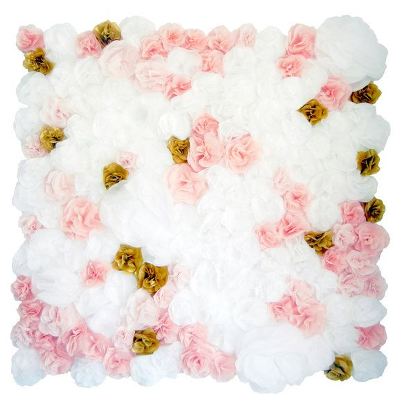 Paper Flower Wall Backdrop Floral Wall Decor Tissue Paper Flower