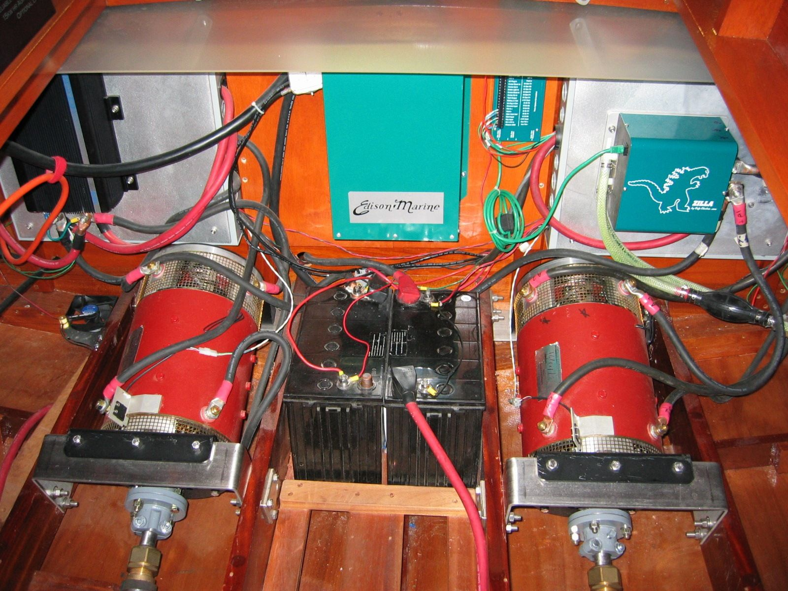 Edison Marine Electric Runabout Boats Pinterest Electrical Wiring