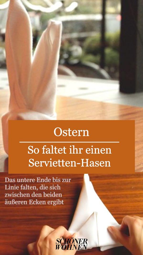 Servietten-Hase