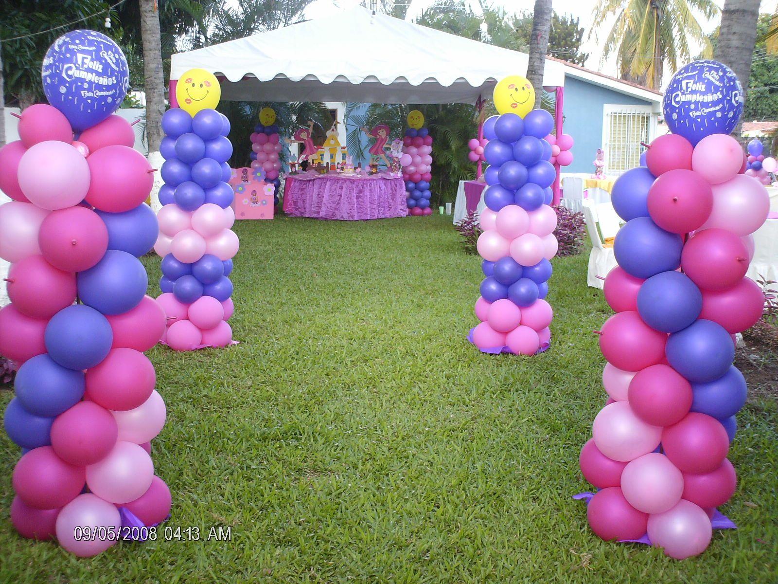 Fiesta infantil para ni a al aire libre fiesta al aire libre pinterest fiestas and birthdays - Decoracion infantil nina ...