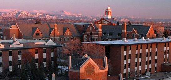 Colleges In Denver Colorado >> Denver Colorado Regis College Oh The Places I Ve Been Colorado