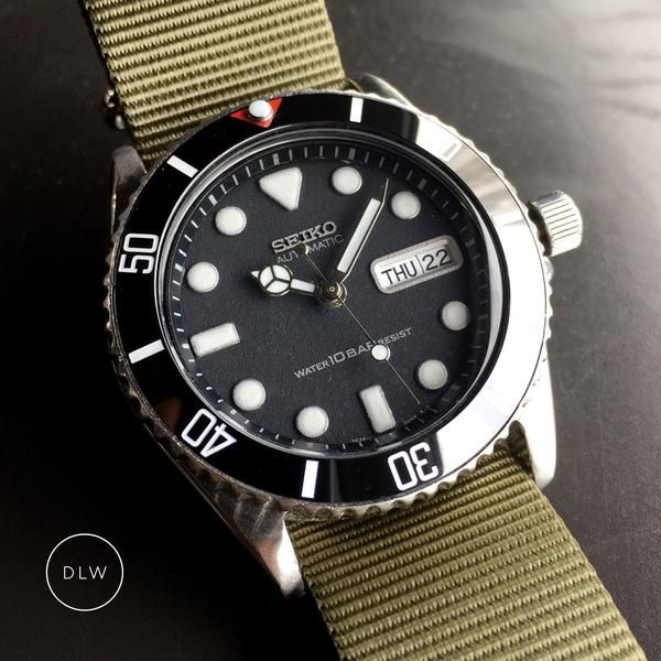 Ceramic Insert - 007 Sub Stealth in 2019 | Watches | Seiko mod