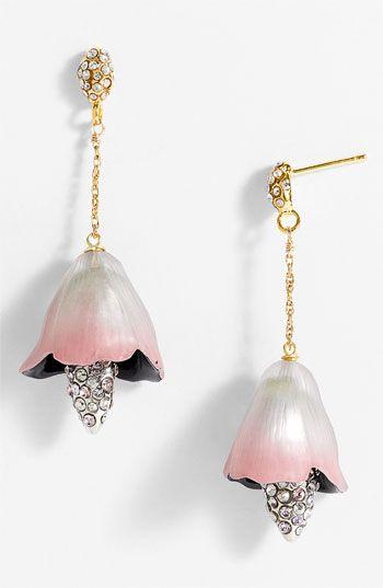 Alexis Bittar 'Dark Gardens' Bell Flower Earrings ...