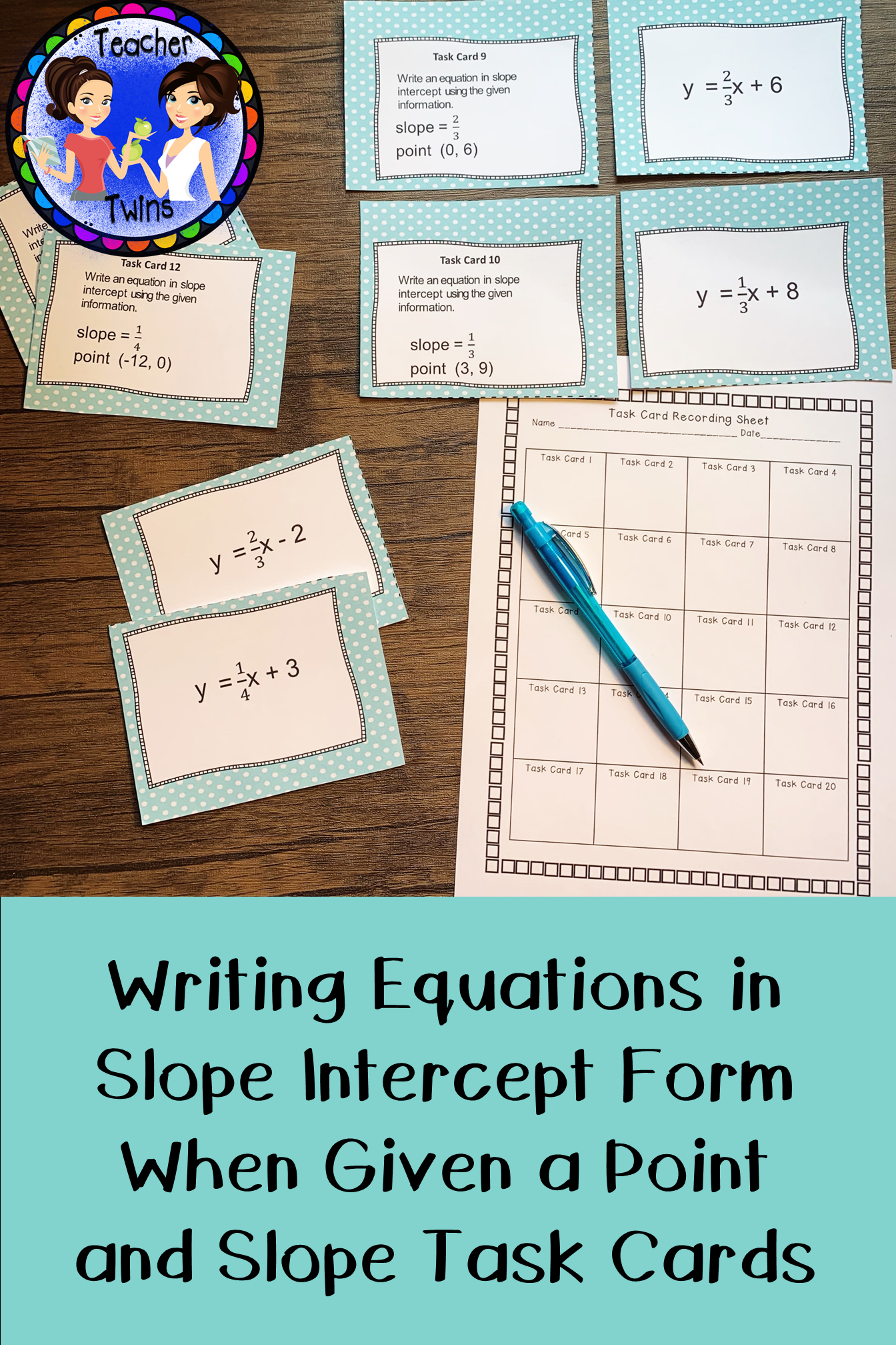 Writing Equations In Slope Intercept Form When Given Point