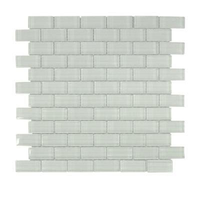 Glacier Ice Brick Gl Mosaic Tile