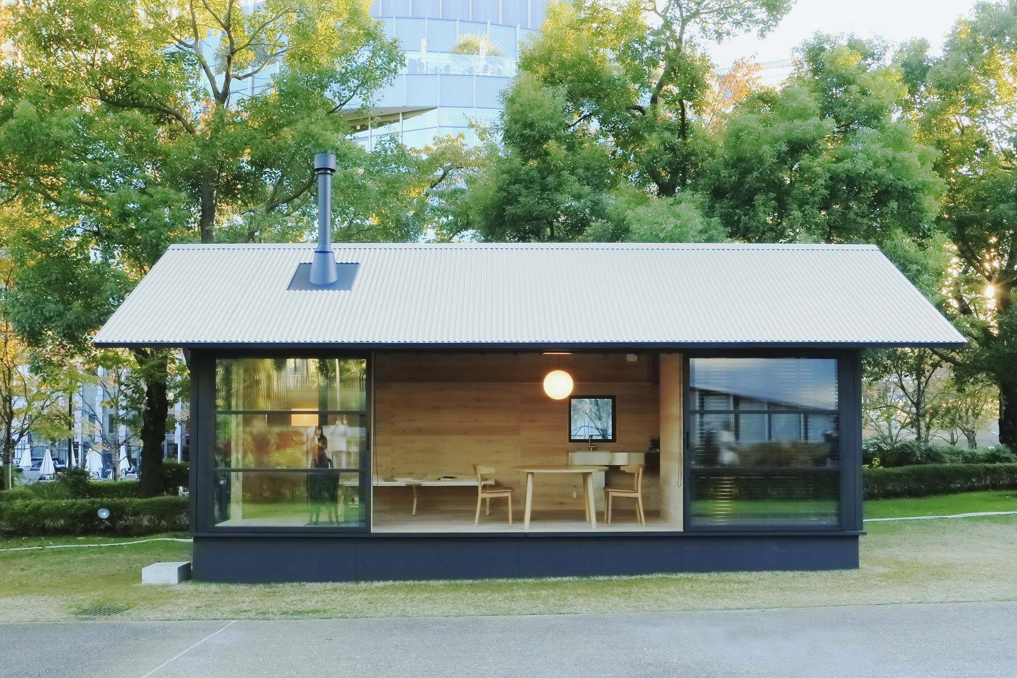 muji unveils tiny pre fabricated huts at tokyo design week - Pre Designed Homes