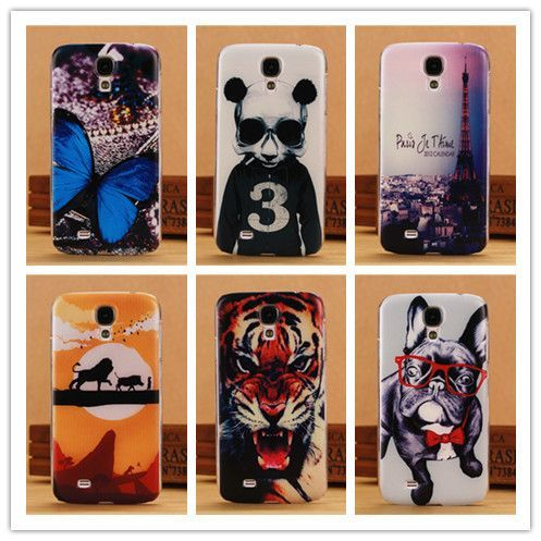 Fashion 0 5mm Ultra Thin Case For Samsung Galaxy S4 I9500 Siv Mobile Phone Cases Back Cover Tiger Lion Dog Bu Samsung Galaxy S4 Samsung Galaxy S4 Mini Lion Dog