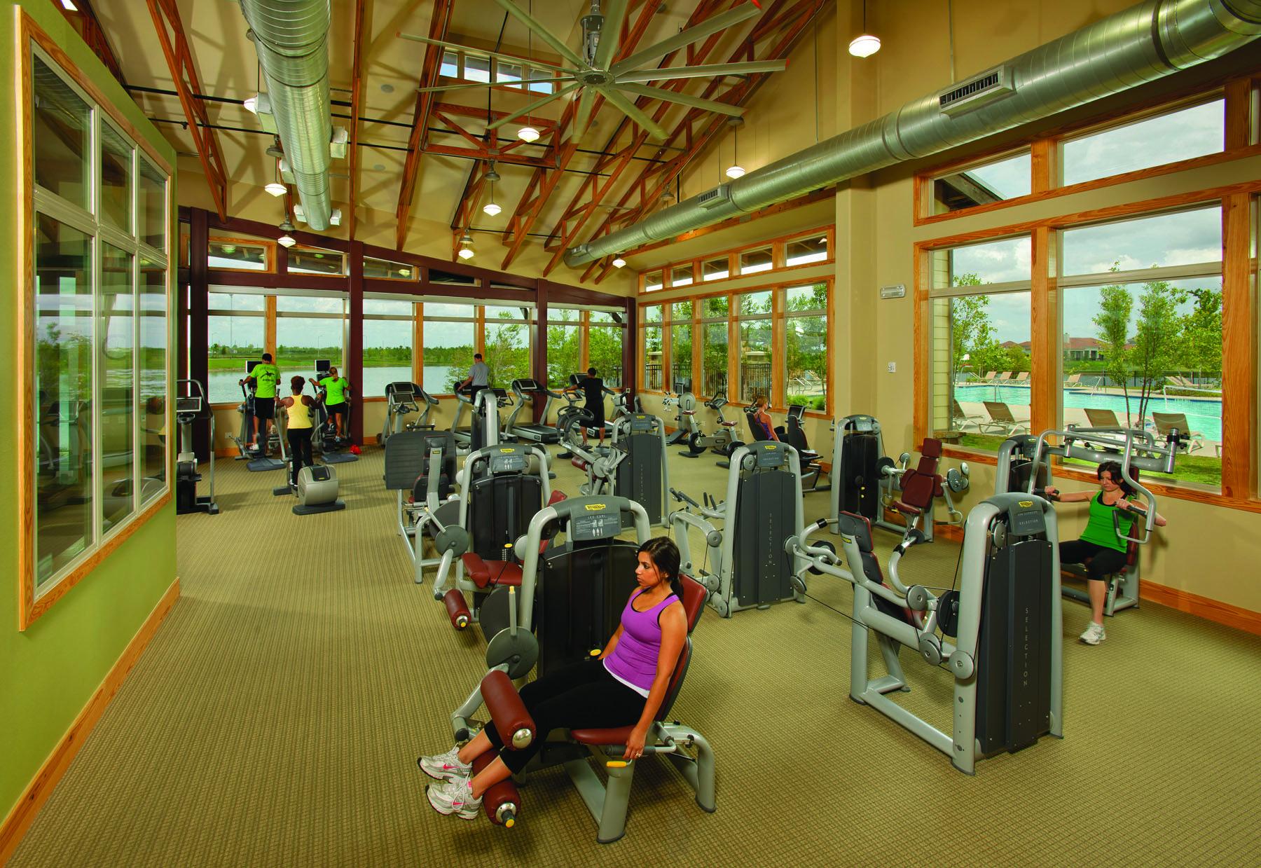 Fitness Center in Cross Creek Ranch. Fulshear, Taylor