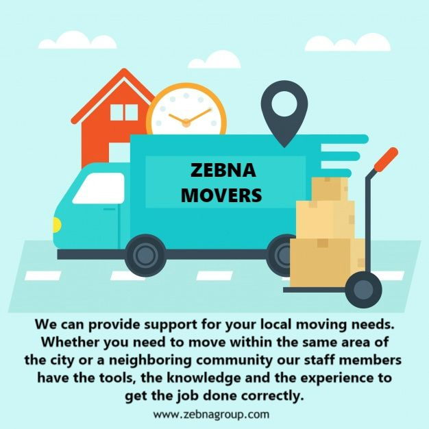 """We can provide support for your local moving needs"