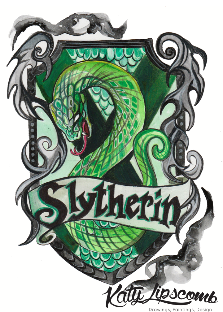 4 For 16 Hp House Crests From Katy Lipscomb Harry Potter Drawings Harry Potter Tattoos Harry Potter Art