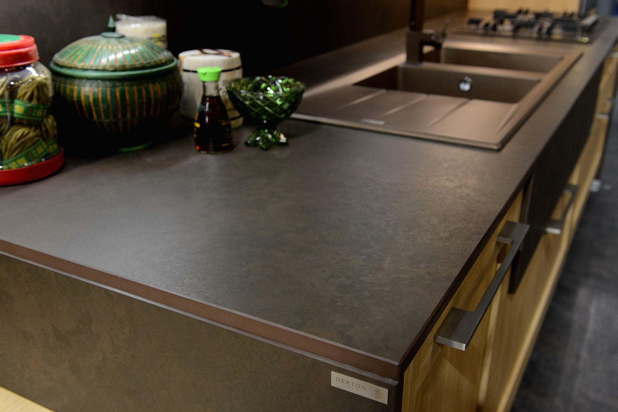 dekton by cosentino keranium stand ar tre kitchen eurocucina designweek outstanding. Black Bedroom Furniture Sets. Home Design Ideas