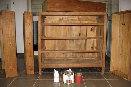 Come dare un aspetto anticato ai mobili di legno md fai da te pinterest - Mobili in legno fai da te ...