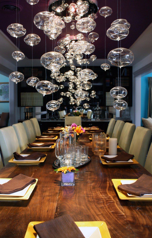 Lighting Dining Elegant Dinning Room Funky Dining Room Dining